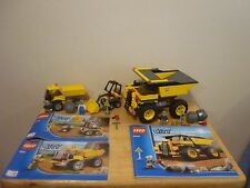 Lego City 4201 Loader and Tipper & 4202 Mining Truck. Construction.