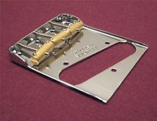 Fender Telecaster Double Long Notched Bridge - w/ Custom Compensated Saddles
