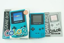 Nintendo Gameboy Color Blue Console 2 GB Box From Japan