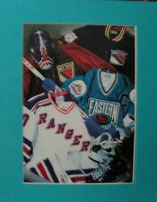 Matted Sports Photo - New York Rangers - Vintage Hockey - 11x14