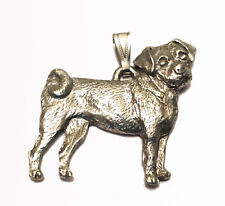 Puggle Pendant Dog Harris Fine Pewter Made in USA jewelry