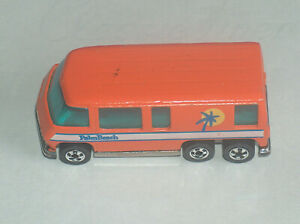 1976 Mattel Hot Wheels Orange GMC Motor Home Palm Beach Good Shape C7 65%