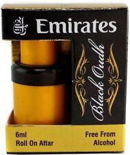 Emirates Black Oudh Attar perfume Oil Long Lasting Fragrance 6 ml No Alcohol