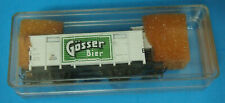 "HO Liliput # 215 G Beer Car ""GOSSER Bier"" with Brakeman Cabin of the OBB"