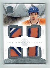 10-11 UD The Cup  Foundations  Taylor Hall  /10  Quad Patches  All-Star  Hart