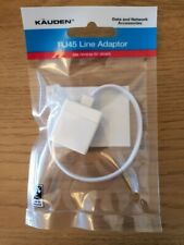 Telephone Line Adaptor Phone Fax BT RJ11 RJ45 Plug Socket Male Female Converter