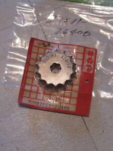 SUZUKI RM80/DS80 ENGINE SPROCKET 14T/428 NOS!