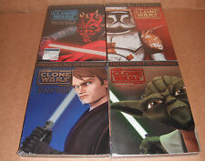 Star Wars: The Clone Wars - The Complete Season 1,2,3,4 NEW R1 DVD