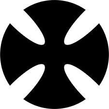 Malteserkreuz Maltese Cross 11 Aufkleber