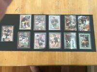 (11) Brett Favre 1991 Action Upper Score Ultra Pro Classic Wild Rookie card lot