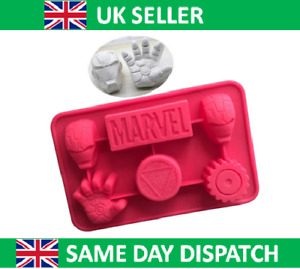 Iron Man Silicone Cake Mould DC Marvel Mold Chocolate Decoration Party Ice Cube