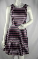 Tommy Hilfiger Womens Dress Peggy Striped Fit & Flare Dress sz US 6,8,10