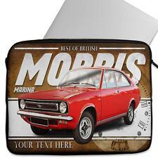Personalised Laptop Cover MORRIS MARINA Neoprene Sleeve Classic Car CL37