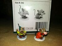 "JAQ AND GUS WDCC ENCHANTED PLACES ""ONE MOUSE OR TWO"" MINIATURES, MIB, w/COA, BOX"