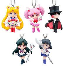 SAILORMOON Sailor Moon Bandai Gashapon Figures Keychain Swing Part 3 Set of 5