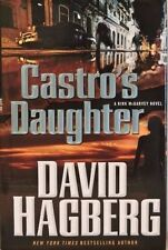 "David Hagberg Signed Book ""Castro'S Daughter"" First Edition Hc/Dj Coa"