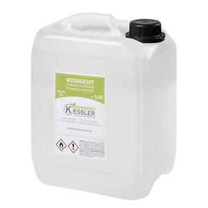 5L Prima Sprit, Alkohol, Ethanol, Weingeist 96,4%vol. - Brennerei Keßler