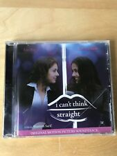 i cant think straight    Original Motion Picture Soundtrack  New and Sealed