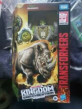 transformers war for cybertron kingdom Rhinox Mint In Hand