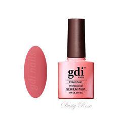 gdi nails Salon Quality UV/LED Soak Off Gel Nail Gel Polish F11 - Dusty Rose