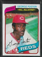 1980 Topps George Foster #400 EX-MT
