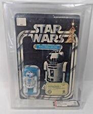 VINTAGE STAR WARS R2-D2 12 BACK B TAKARA SEALED AFA 80 NM 80/80/85 1978 KENNER