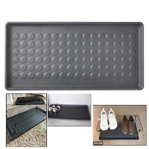 Home Door Shoe Tray Mat Plants Pet Washable Utility IKEA BAGGMUCK Indoor Outdoor