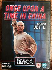 JET LI Once Upon a time EN CHINA 1990 ~ OOP Hkl Hong Kong Legends GB DVD
