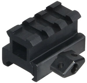 UTG 3-Slot Medium Profile Riser Mount