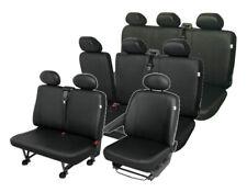 Citroen Jumpy Sitzbezüge Sitzschoner Set Kunstleder 9-Sitzer robuste Kunstleder