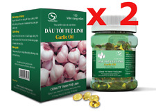 200 capsules Vietnamese Purple Garlic oil softgel Herbal extract Natural remedy