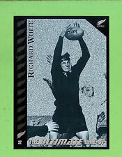 "1995 NEW ZEALAND  ALL BLACKS RUGBY UNION CARD  #32  RICHARD  ""TINY""  WHITE"