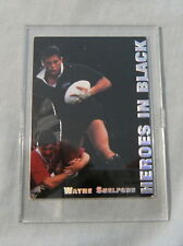 1995 NZ ALL BLACKS RUGBY UNION CARD - H5 WAYNE SHELFORD