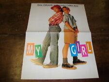 ANNA CHLUMSKY & MACAULAY CULKIN - Poster couleurs MY GIRL !!!!!!!!!!!!