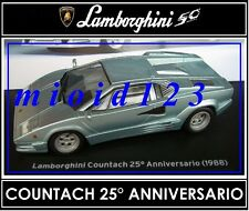 1/43 -  Lamborghini Collection 50° : COUNTACH 25° ANNIVERSARIO [ 1988 ] Die-cast