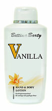 Bettina Barty Vanilla Hand and Body Lotion 2x 500ml (1000ml) Sparpack