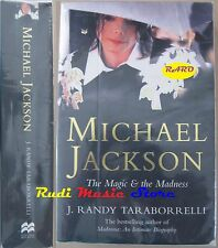 BOOK LIBRO MICHAEL JACKSON THE MAGIC & THE MADNESS 2003 no lp mc dvd live