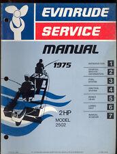 1975 EVINRUDE OUTBOARD   2HP SERVICE MANUAL