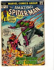 Amazing Spider-Man #122 VG Marvel Comic Book Death Of Goblin Gwen Mary Jane BD1