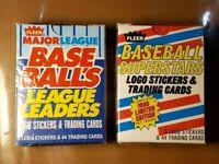 1988 FLEER BASEBALL - SUPERSTARS (44 CARDS) AND LEAGUE LEADERS (44 CARDS) - 2 SE