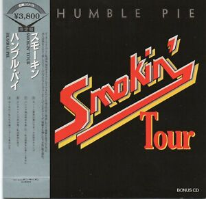 HUMBLE PIE - SMOKIN' TOUR (LIVE CHICAGO 1972) - CD CARDSLEEVE - SOUNDBOARD