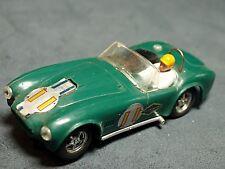 Scalextric Vintage 1/32 Slot Car Green #11 A C Cobta Nice Rare