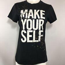 Nike Graphic Tshirt Black M Medium Tee Shirt Workout Crewneck Logo Fitness