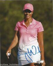 LPGA Cheyenne Woods Autographed Signed 8x10 Golf Photo COA H