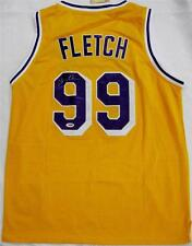 """CHEVY CHASE """"Fletch"""" Signed LAKERS Jersey PSA/DNA COA + Pic Proof Autograph Auto"""