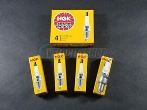 NGK Standard Spark Plugs (4) for 2003-2005 Evolution VIII 2 Steps Colder