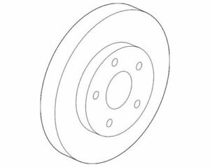 OEM Genuine GM Front Brake Disc Rotor 2015-2019 Chevrolet Trax 23118342