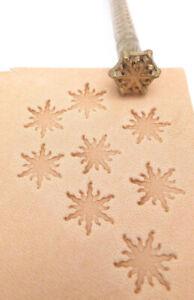 KELLY MIDAS [ PROFESSIONAL TOOL # 146  SNOWDROP ] Midas Leather Stamp Craft