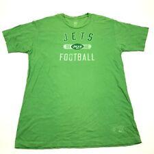 Reebok Jo Namath New York Jets Shirt Size Extra Large XL Adult Green Football T