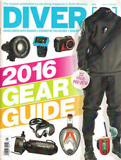 DIVER 2016 GEAR GUIDE Reviews Scuba Diving Dive The Azores Naked with Sharks